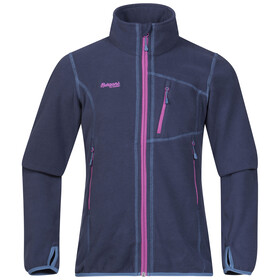 Bergans Youth Runde Jacket Navy/Pink Rose/Steel Blue